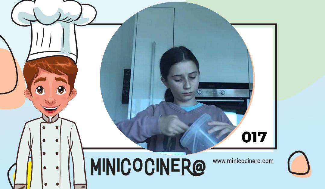 Muffin de chocolate en microondas con María