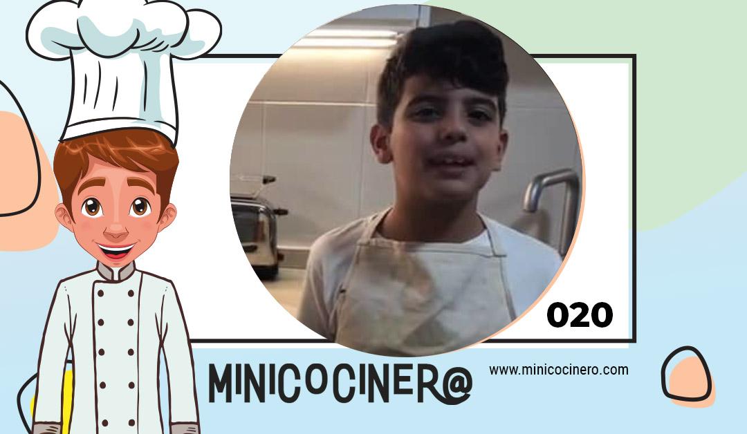 Mini pizzas de calabaza con Diego